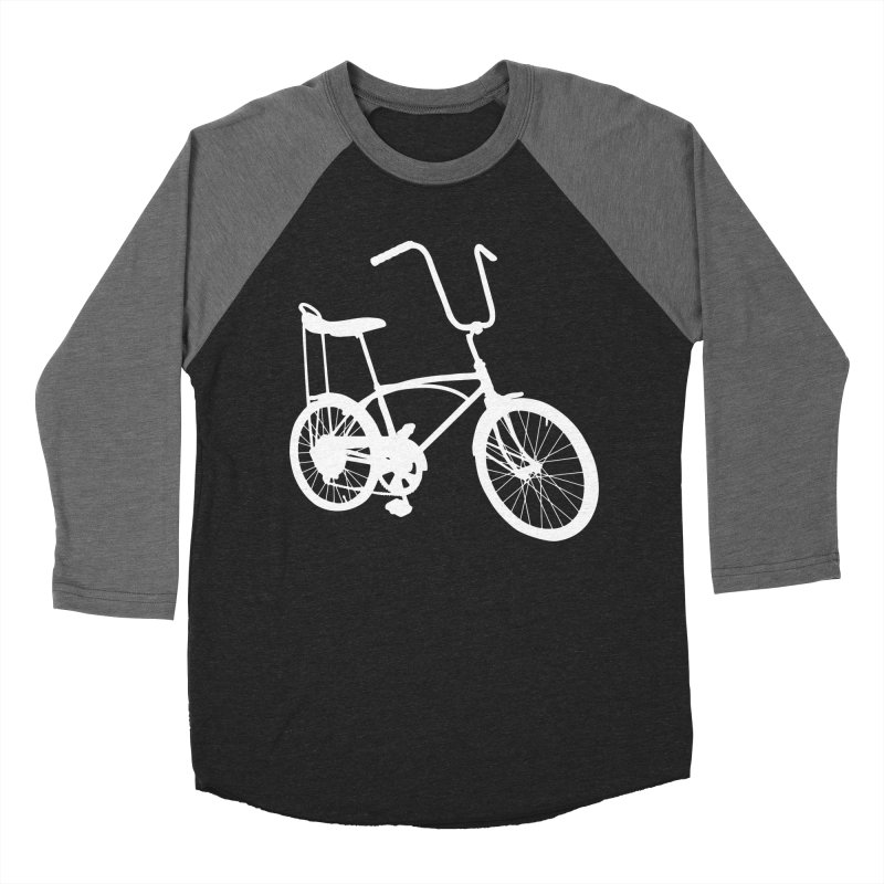My Ride Men's Baseball Triblend Longsleeve T-Shirt by CRANK. outdoors + music lifestyle clothing