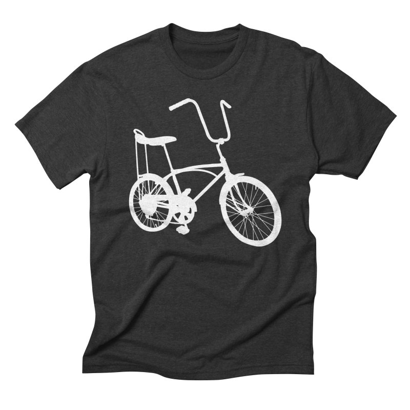 My Ride in Men's Triblend T-shirt Heather Onyx by CRANK. outdoors + music lifestyle clothing