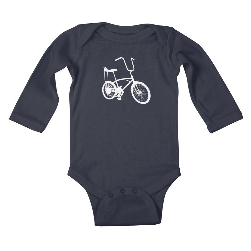 My Ride Kids Baby Longsleeve Bodysuit by CRANK. outdoors + music lifestyle clothing