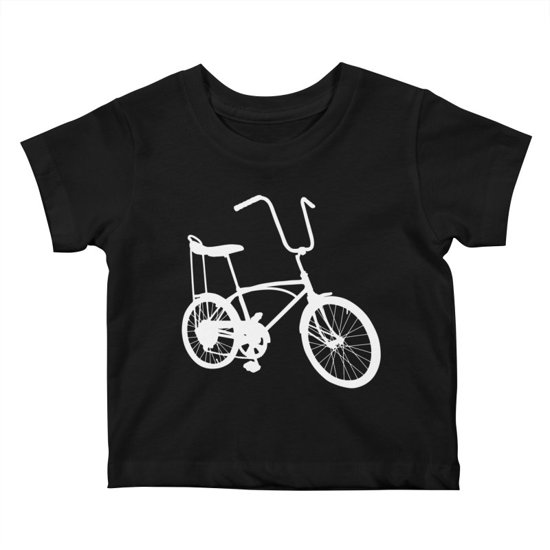 My Ride Kids Baby T-Shirt by CRANK. outdoors + music lifestyle clothing