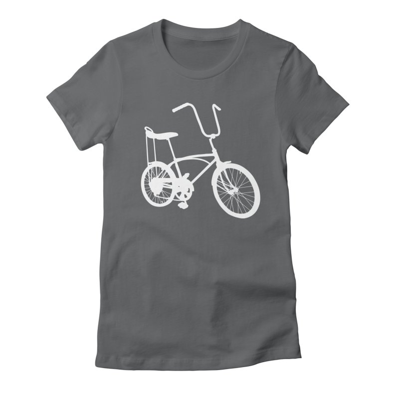 My Ride Women's Fitted T-Shirt by CRANK. outdoors + music lifestyle clothing