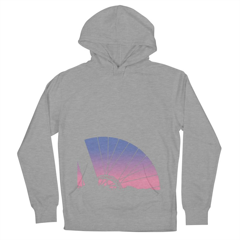 Sky Has Spoken Men's French Terry Pullover Hoody by CRANK. outdoors + music lifestyle clothing