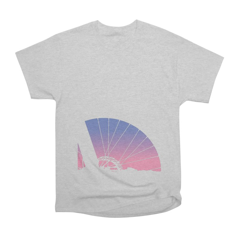 Sky Has Spoken Women's Heavyweight Unisex T-Shirt by CRANK. outdoors + music lifestyle clothing