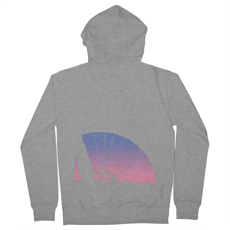 Sky Has Spoken Women's Zip-Up Hoody by CRANK. outdoors + music lifestyle clothing