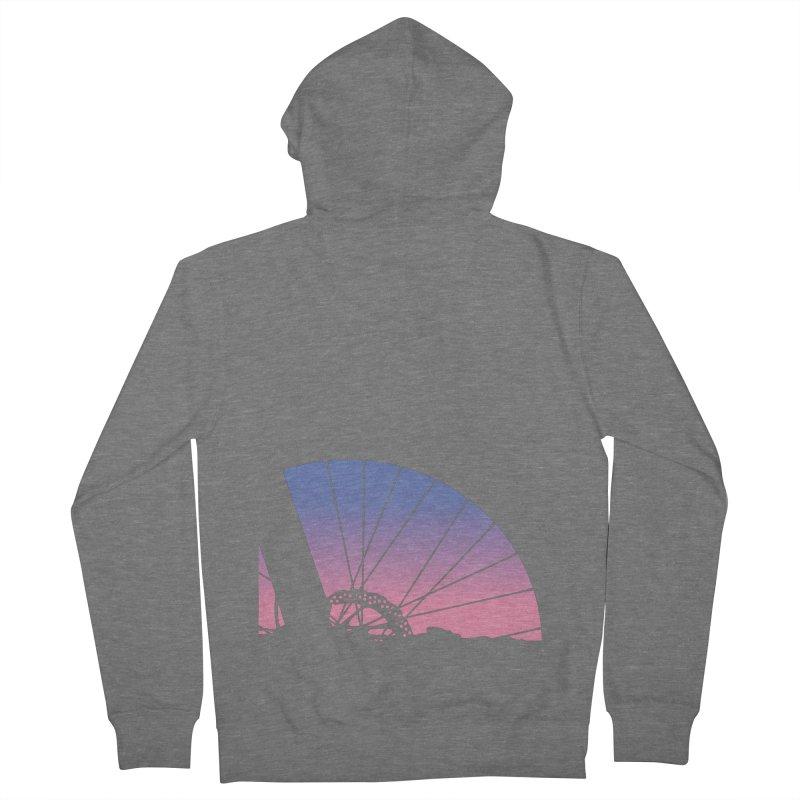 Sky Has Spoken Men's Zip-Up Hoody by CRANK. outdoors + music lifestyle clothing