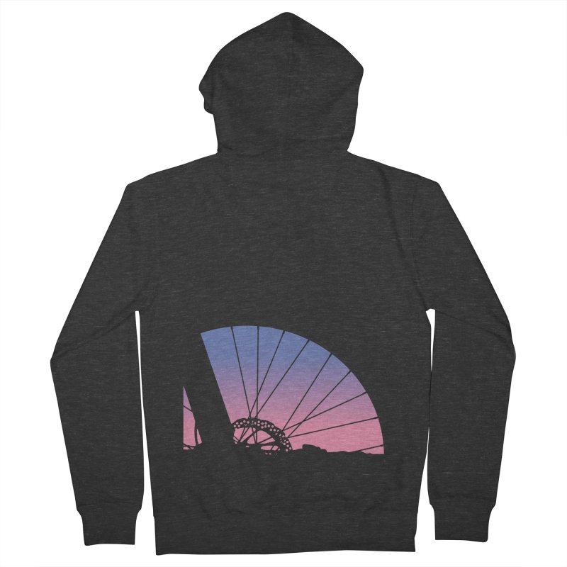 Sky Has Spoken Men's Zip-Up Hoody by CRANK. outdoors + music lifestyle clothing