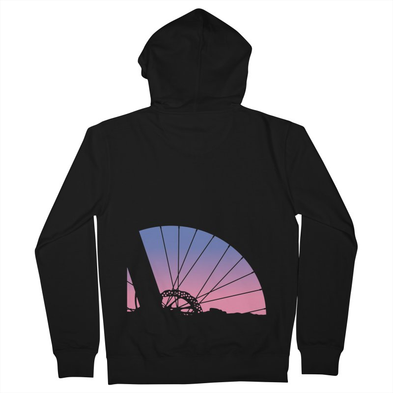 Sky Has Spoken Men's French Terry Zip-Up Hoody by CRANK. outdoors + music lifestyle clothing