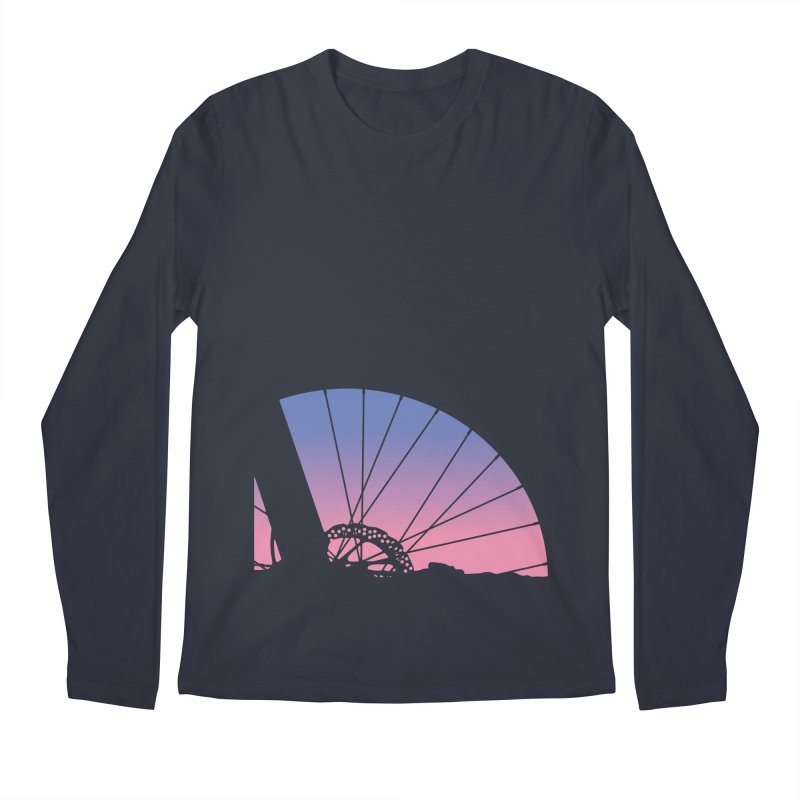 Sky Has Spoken Men's Longsleeve T-Shirt by CRANK. outdoors + music lifestyle clothing