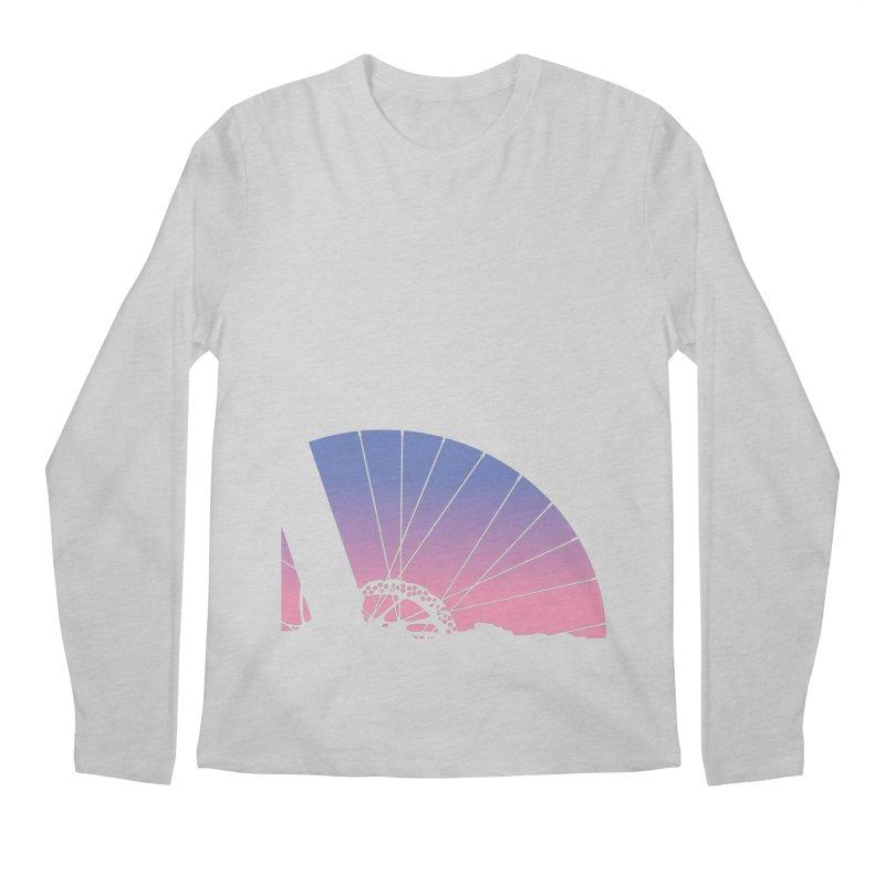Sky Has Spoken Men's Regular Longsleeve T-Shirt by CRANK. outdoors + music lifestyle clothing