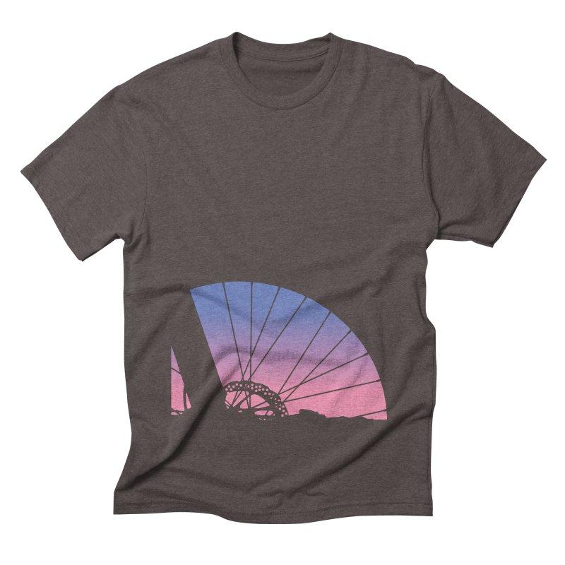 Sky Has Spoken Men's Triblend T-Shirt by CRANK. outdoors + music lifestyle clothing