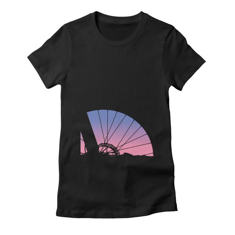 Sky Has Spoken Women's T-Shirt by CRANK. outdoors + music lifestyle clothing
