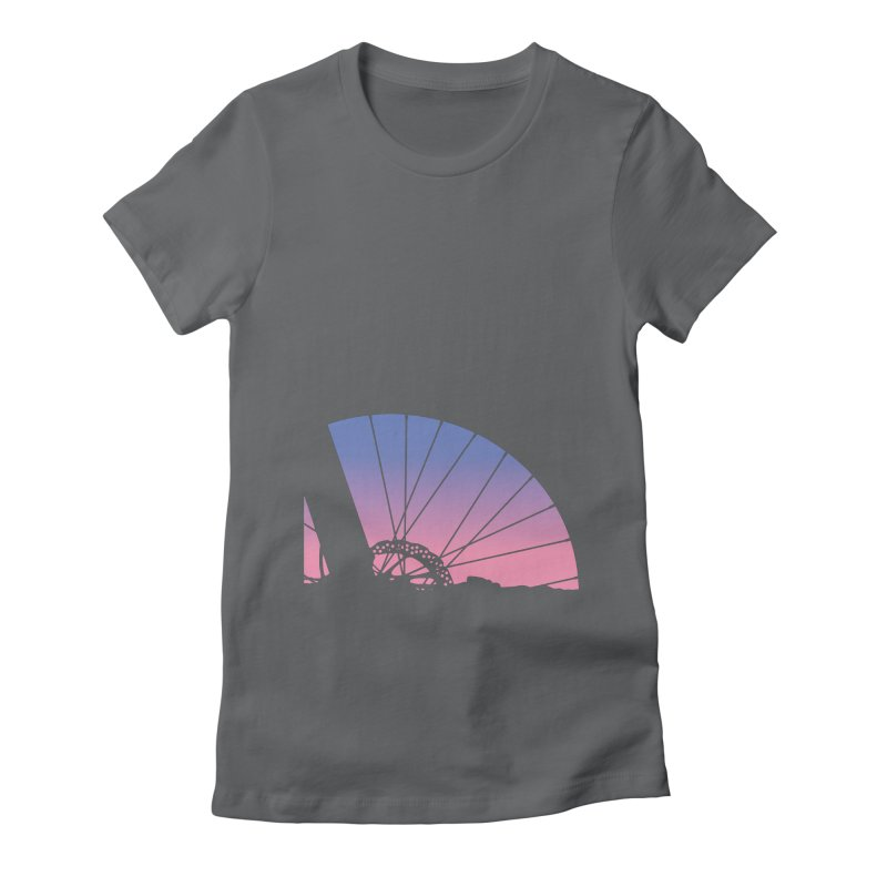 Sky Has Spoken Women's Fitted T-Shirt by CRANK. outdoors + music lifestyle clothing