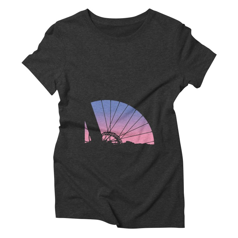 Sky Has Spoken Women's Triblend T-Shirt by CRANK. outdoors + music lifestyle clothing