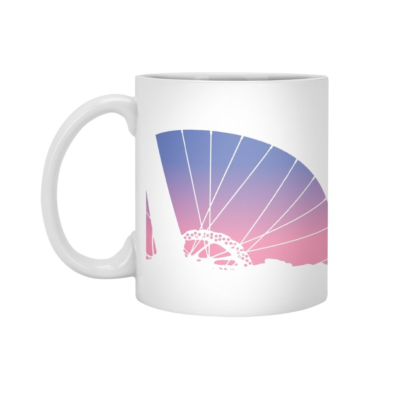 Sky Has Spoken in Standard Mug White by CRANK. outdoors + music lifestyle clothing