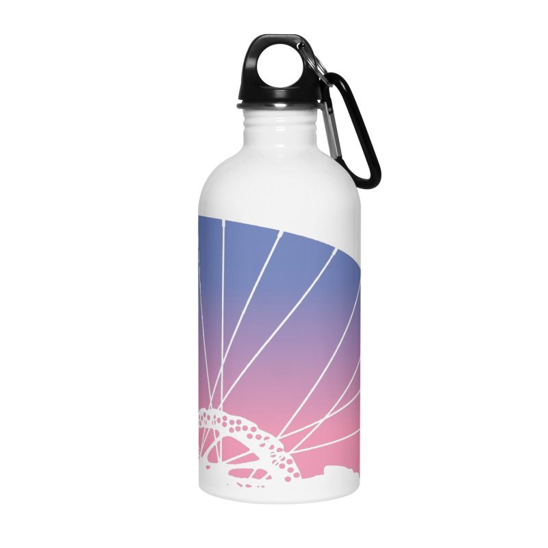 Sky Has Spoken in Water Bottle by CRANK. outdoors + music lifestyle clothing