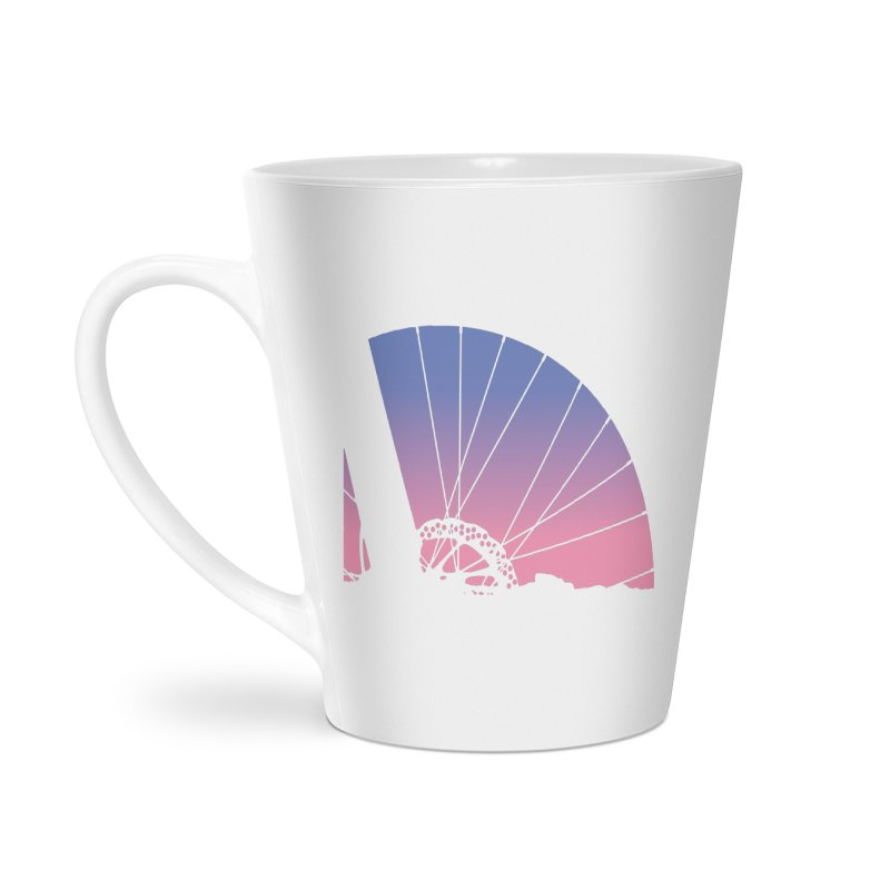 Sky Has Spoken Accessories Latte Mug by CRANK. outdoors + music lifestyle clothing