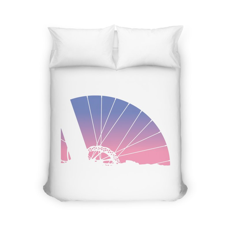 Sky Has Spoken Home Duvet by CRANK. outdoors + music lifestyle clothing