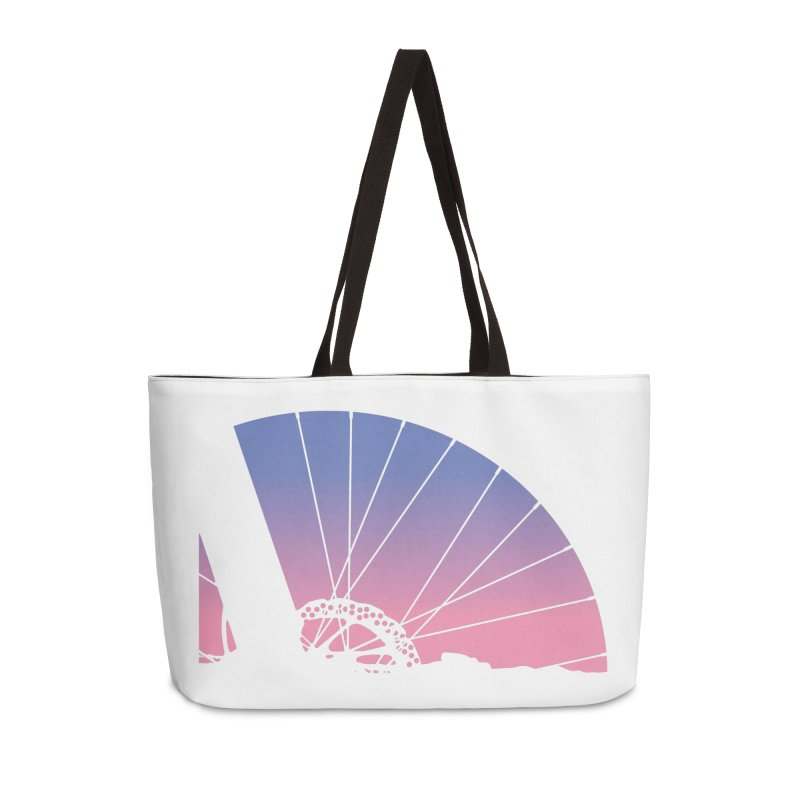 Sky Has Spoken Accessories Weekender Bag Bag by CRANK. outdoors + music lifestyle clothing