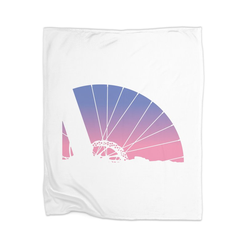Sky Has Spoken Home Blanket by CRANK. outdoors + music lifestyle clothing