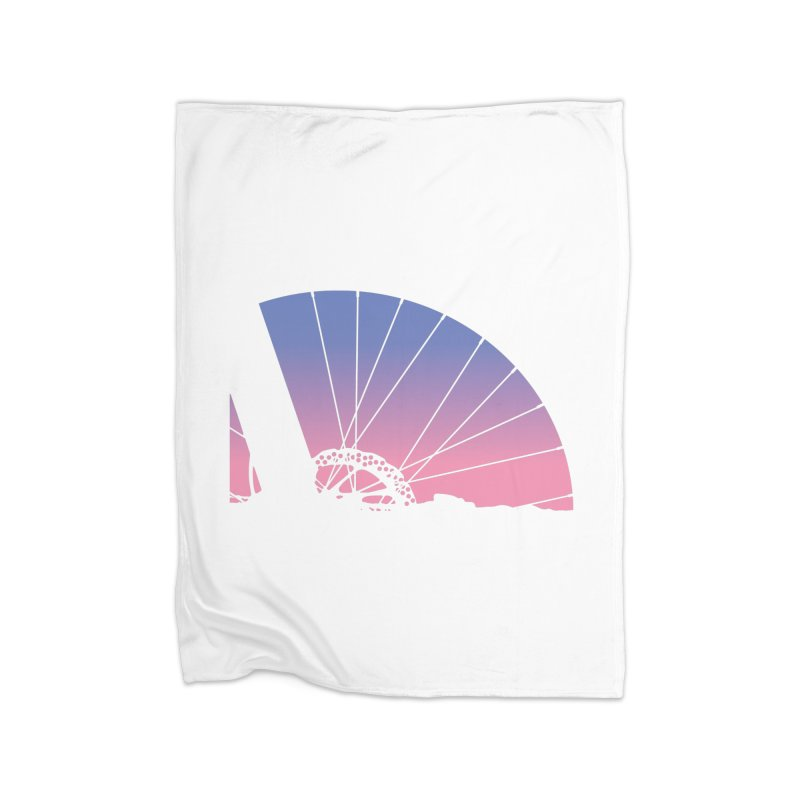 Sky Has Spoken Home Fleece Blanket Blanket by CRANK. outdoors + music lifestyle clothing