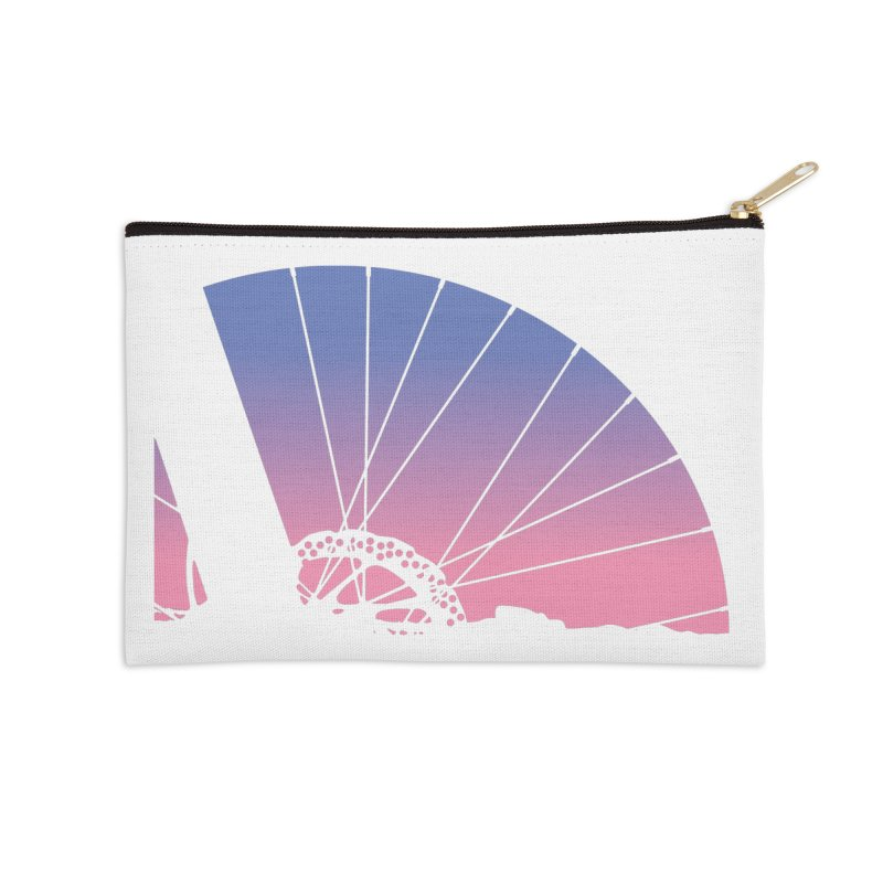 Sky Has Spoken Accessories Zip Pouch by CRANK. outdoors + music lifestyle clothing