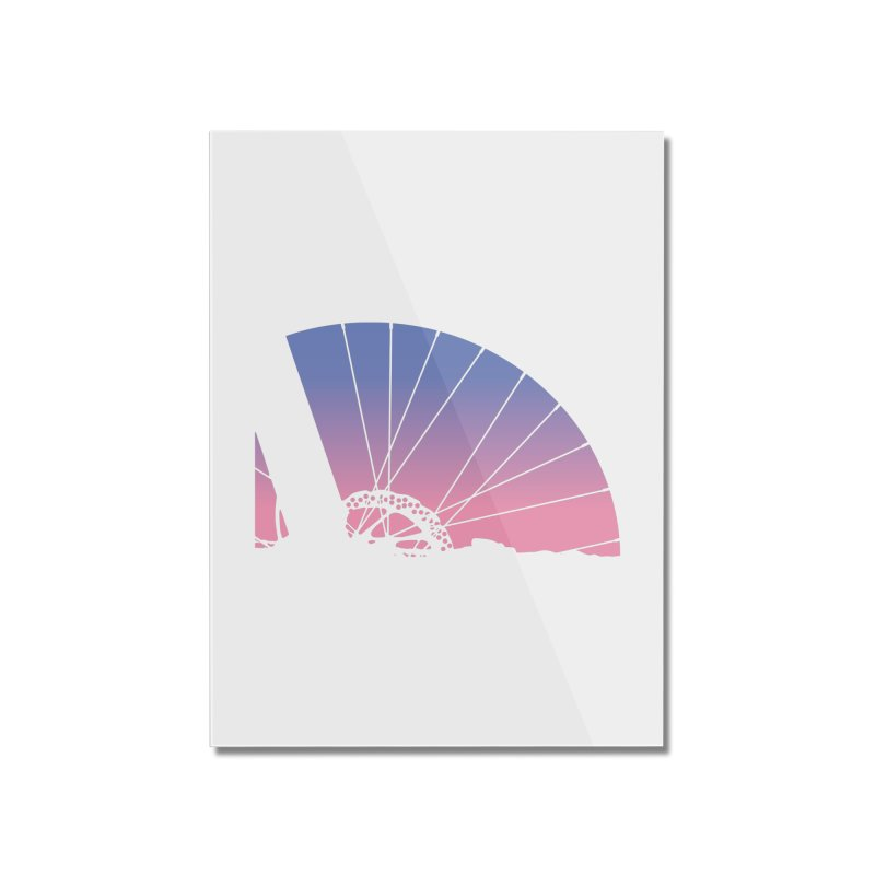 Sky Has Spoken Home Mounted Acrylic Print by CRANK. outdoors + music lifestyle clothing