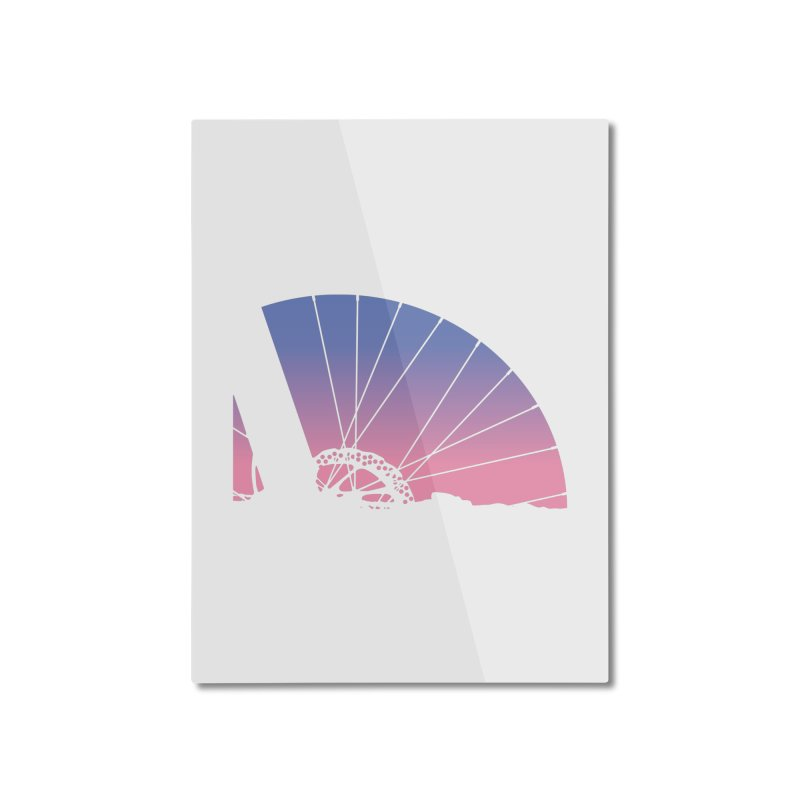 Sky Has Spoken Home Mounted Aluminum Print by CRANK. outdoors + music lifestyle clothing