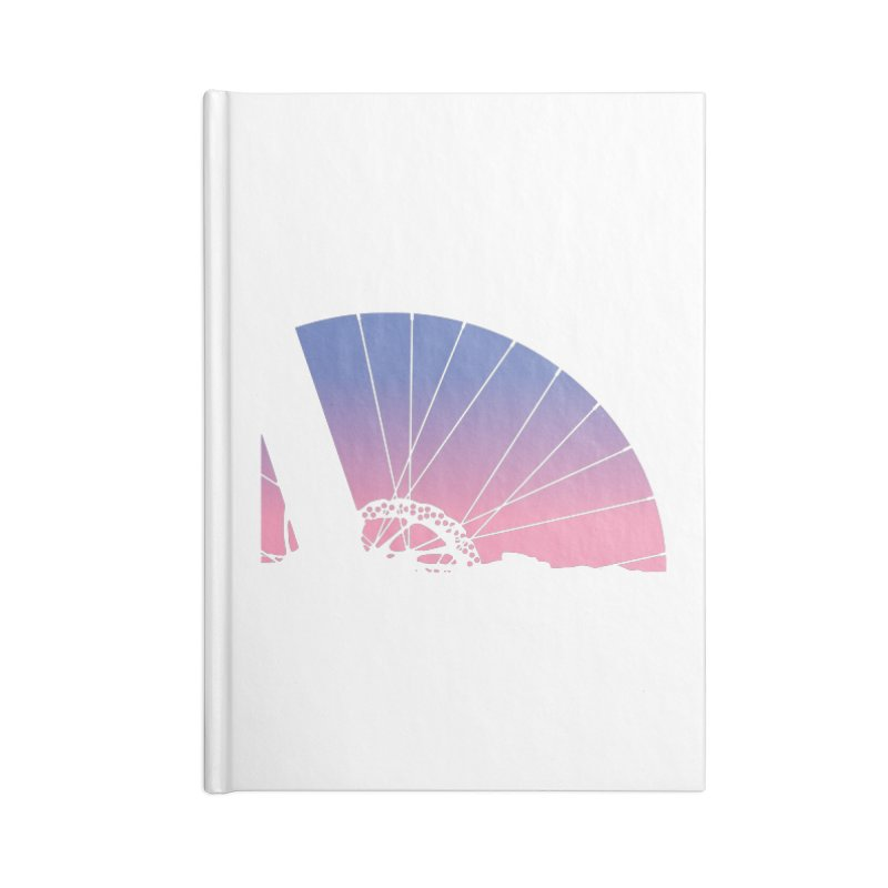 Sky Has Spoken Accessories Lined Journal Notebook by CRANK. outdoors + music lifestyle clothing