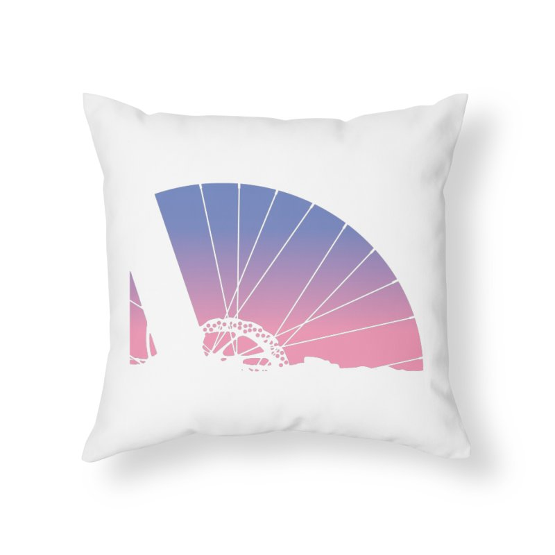 Sky Has Spoken in Throw Pillow by CRANK. outdoors + music lifestyle clothing