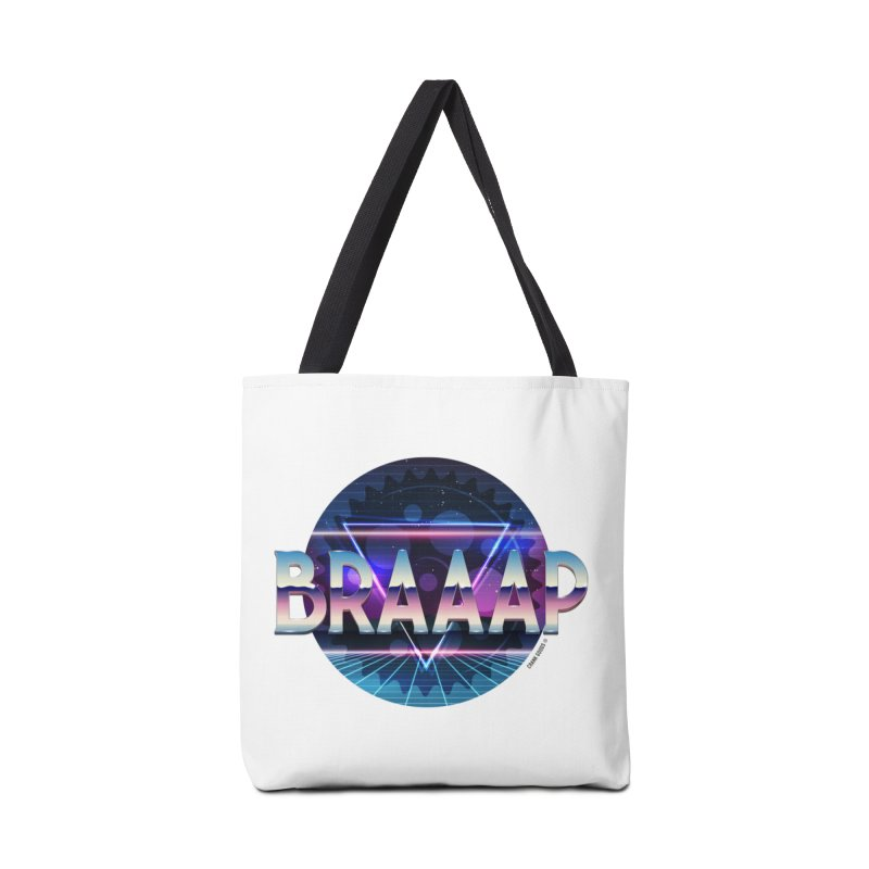 BRAAAP Chrome Accessories Bag by CRANK. outdoors + music lifestyle clothing