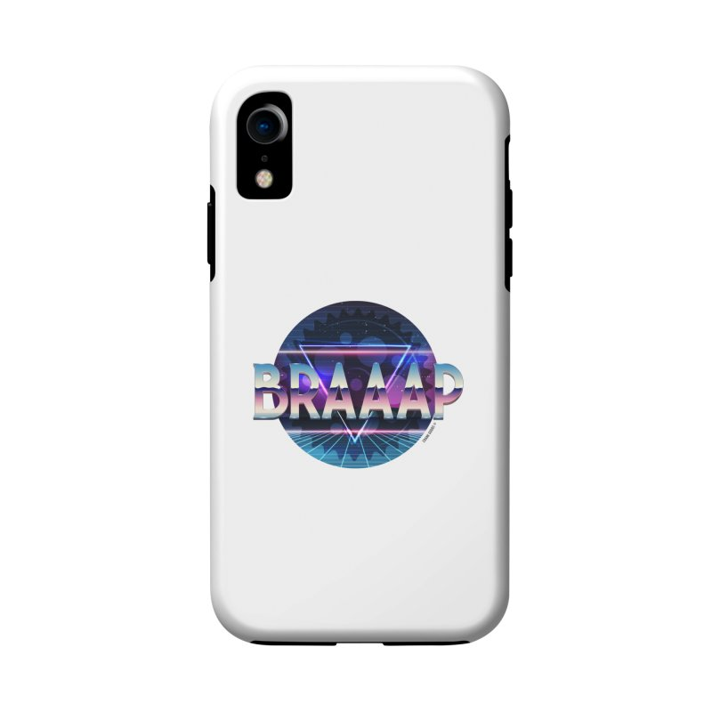 BRAAAP Chrome Accessories Phone Case by CRANK. outdoors + music lifestyle clothing