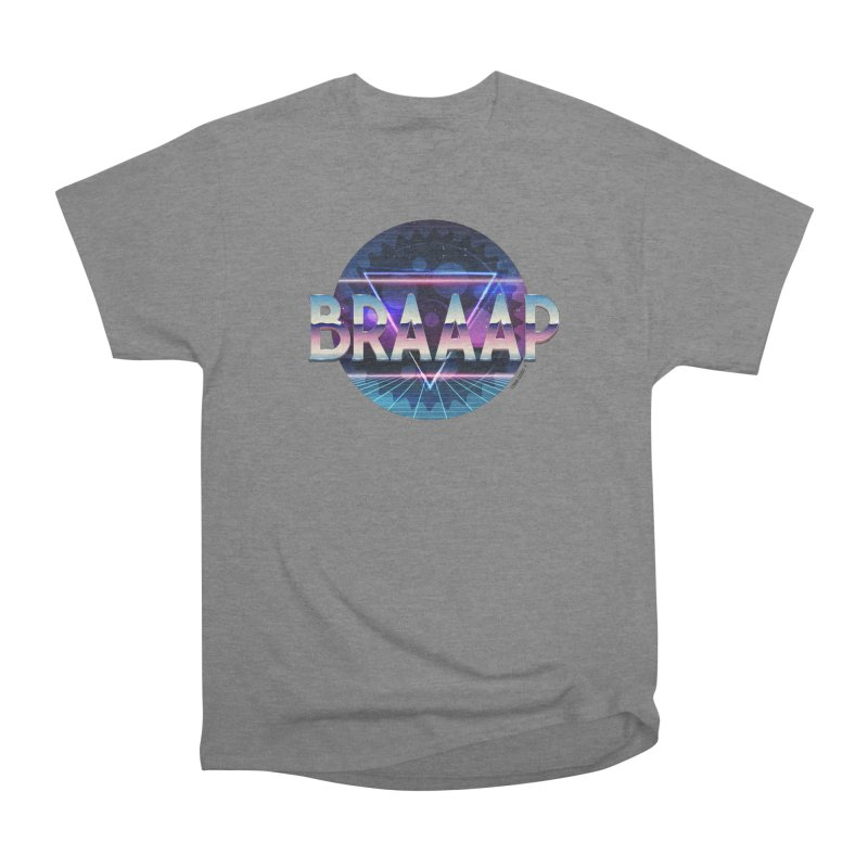 BRAAAP Chrome Men's T-Shirt by CRANK. outdoors + music lifestyle clothing