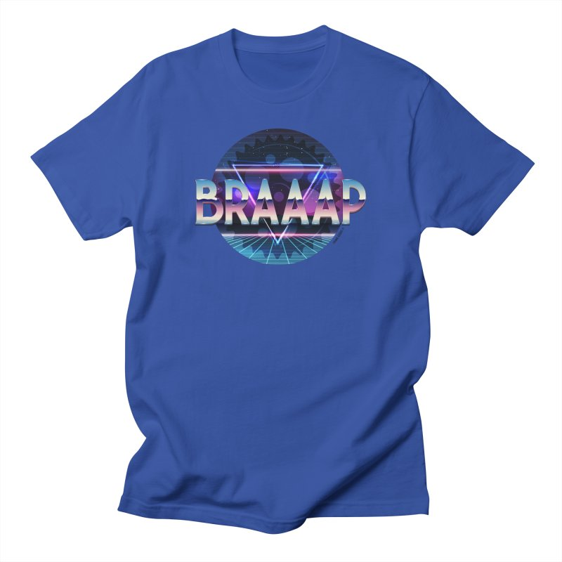 BRAAAP Chrome Women's T-Shirt by CRANK. outdoors + music lifestyle clothing
