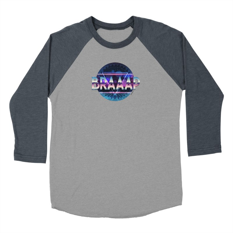 BRAAAP Chrome Women's Longsleeve T-Shirt by CRANK. outdoors + music lifestyle clothing