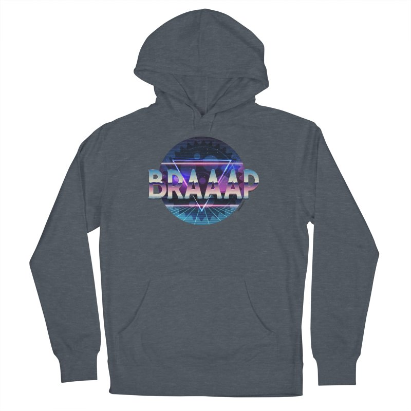BRAAAP Chrome Women's French Terry Pullover Hoody by CRANK. outdoors + music lifestyle clothing