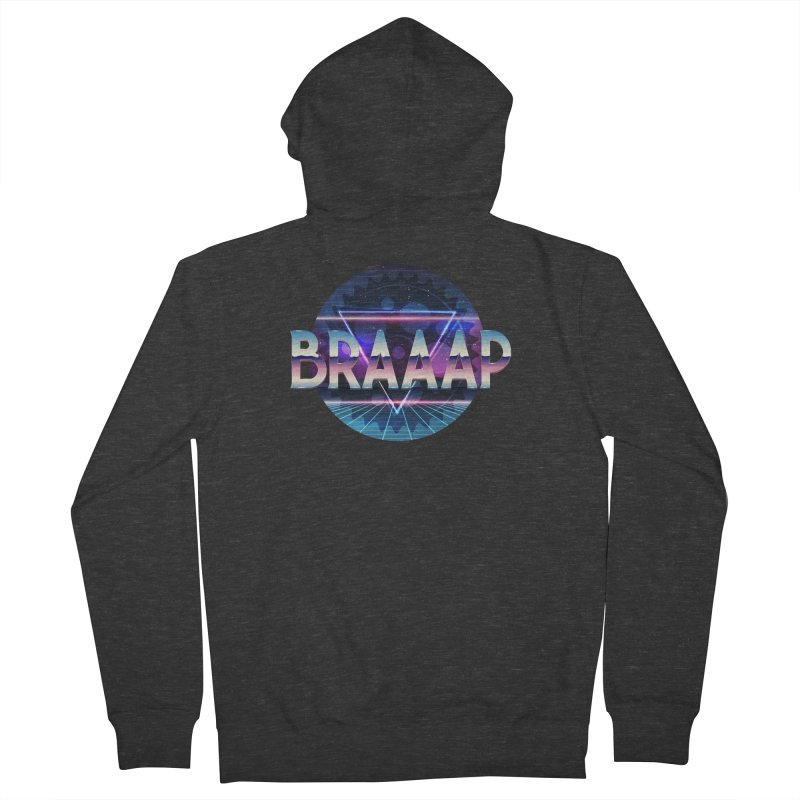 BRAAAP Chrome Men's Zip-Up Hoody by CRANK. outdoors + music lifestyle clothing