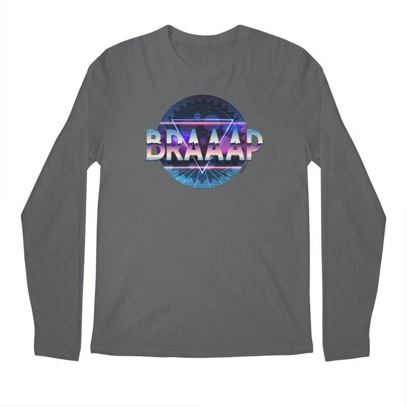 BRAAAP Chrome Men's Regular Longsleeve T-Shirt by CRANK. outdoors + music lifestyle clothing