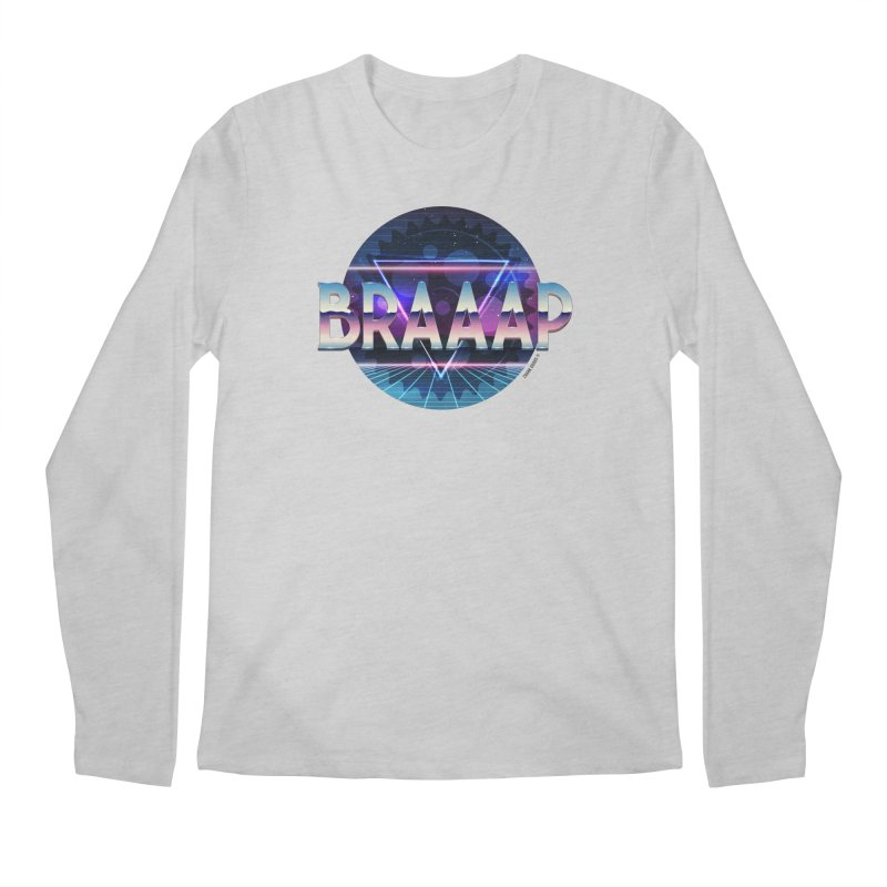 BRAAAP Chrome Men's Regular Longsleeve T-Shirt by CRANK. outdoors + music lifestyle clothing