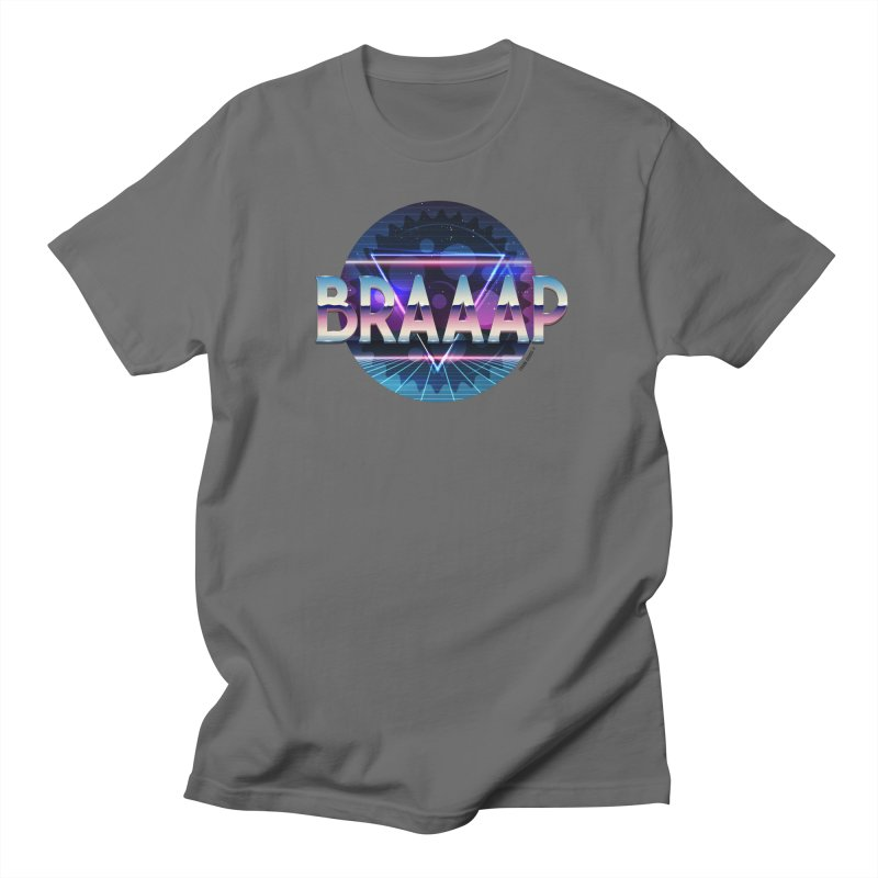 BRAAAP Chrome Women's Unisex T-Shirt by CRANK. outdoors + music lifestyle clothing