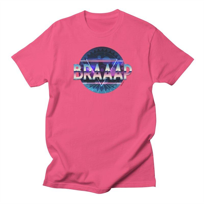 BRAAAP Chrome Women's Regular Unisex T-Shirt by CRANK. outdoors + music lifestyle clothing