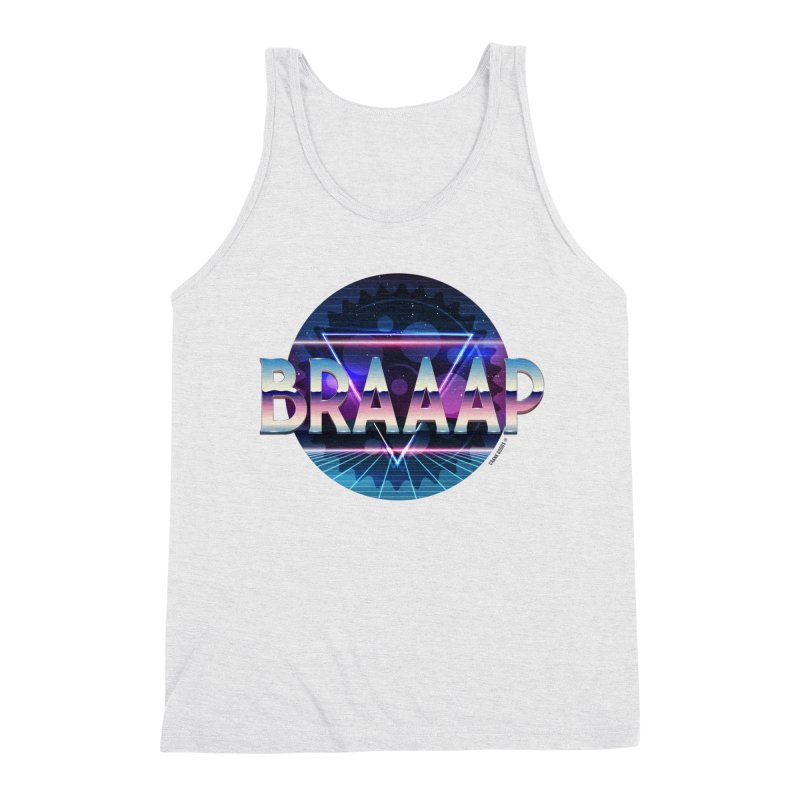 BRAAAP Chrome Men's Tank by CRANK. outdoors + music lifestyle clothing