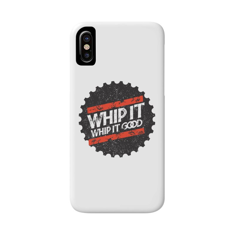 Whip It Good BLK Accessories Phone Case by CRANK. outdoors + music lifestyle clothing