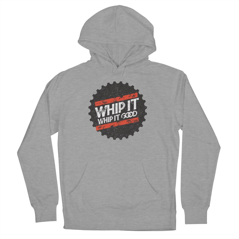 Whip It Good BLK Women's French Terry Pullover Hoody by CRANK. outdoors + music lifestyle clothing