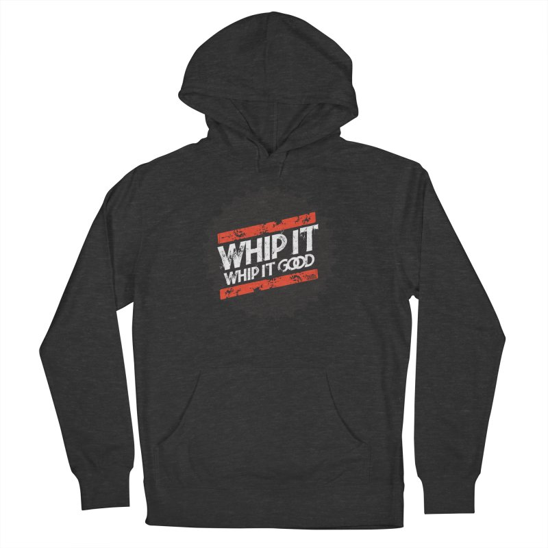 Whip It Good BLK Men's French Terry Pullover Hoody by CRANK. outdoors + music lifestyle clothing