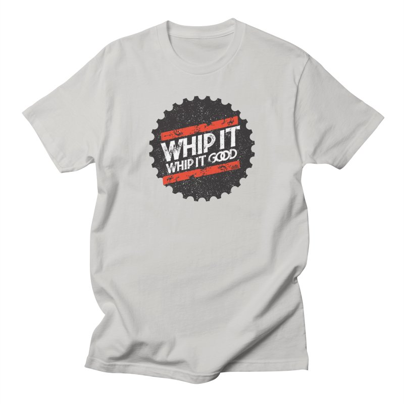 Whip It Good BLK Women's Regular Unisex T-Shirt by CRANK. outdoors + music lifestyle clothing
