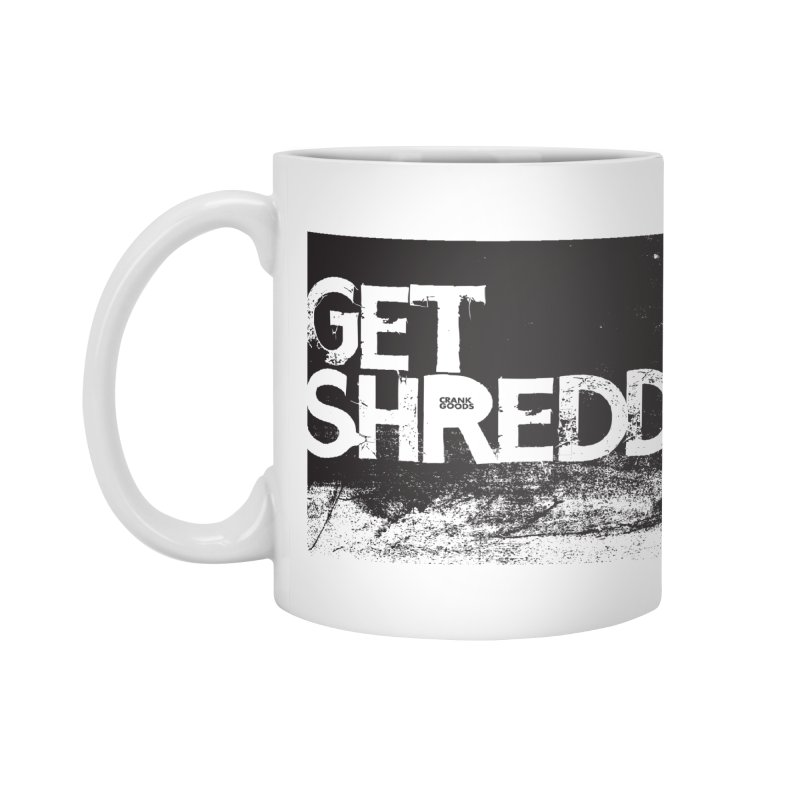 Get Shreddy Block Accessories Mug by CRANK. outdoors + music lifestyle clothing