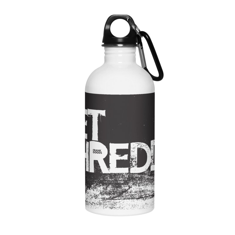 Get Shreddy Block Accessories Water Bottle by CRANK. outdoors + music lifestyle clothing