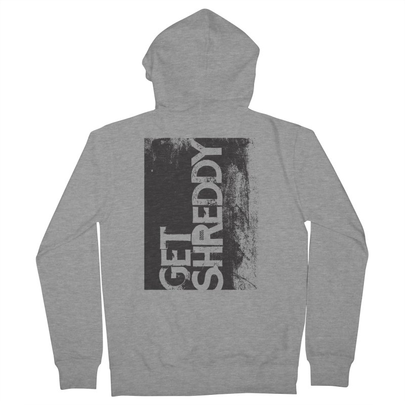 Get Shreddy Block Men's French Terry Zip-Up Hoody by CRANK. outdoors + music lifestyle clothing