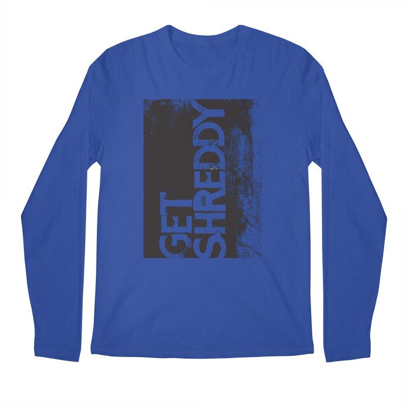 Get Shreddy Block Men's Longsleeve T-Shirt by CRANK. outdoors + music lifestyle clothing