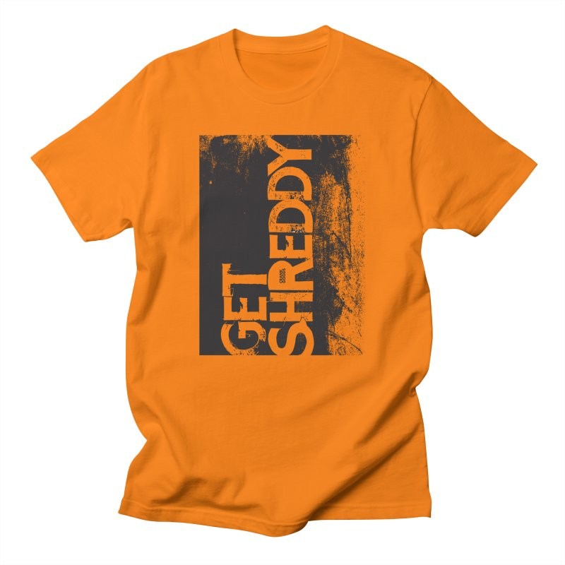 Get Shreddy Block Women's Regular Unisex T-Shirt by CRANK. outdoors + music lifestyle clothing